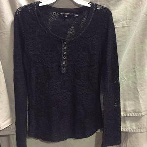 Miss Me lace blouse. Excellent condition